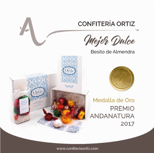 premio andanatura Besitos de Almendra